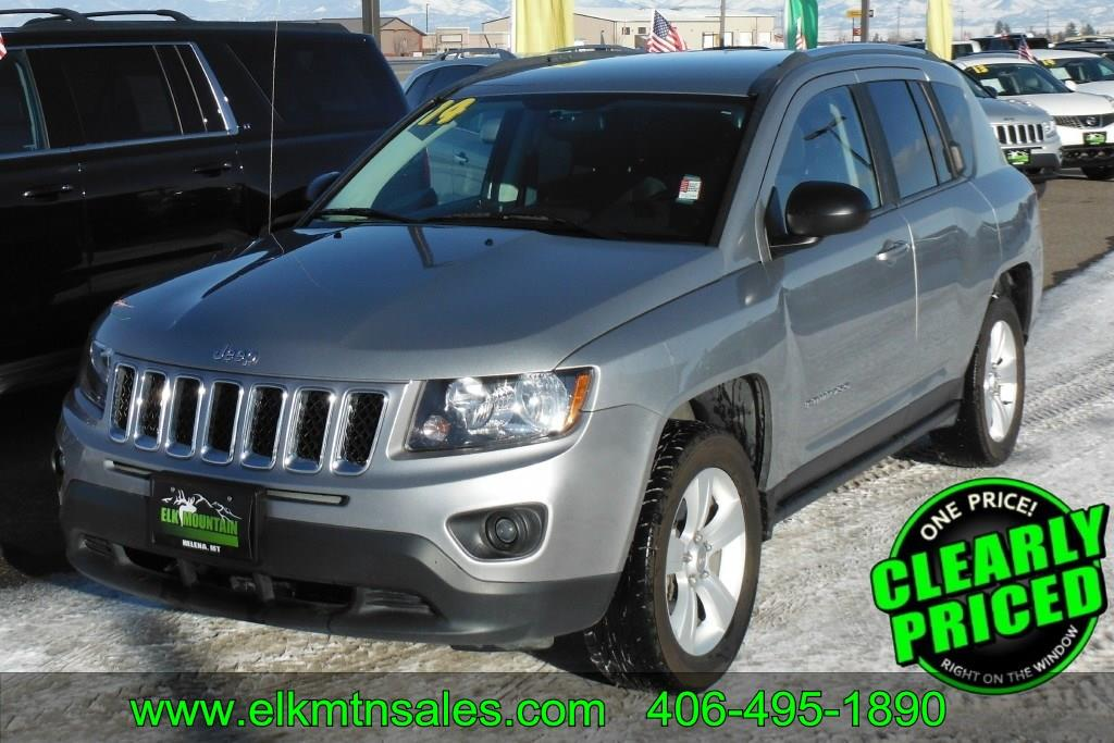 2014 Jeep Compass 4x4 Sport 4dr Suv In Helena Mt Elk