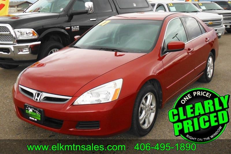 Honda Accord For Sale In Montana