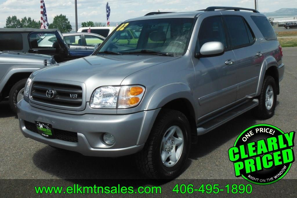 2002 toyota sequoia sr5 4wd 4dr suv in helena mt elk. Black Bedroom Furniture Sets. Home Design Ideas