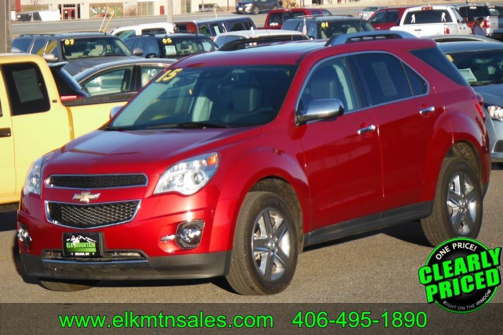 2015 Chevrolet Equinox Awd Ltz 4dr Suv In Helena Mt Elk