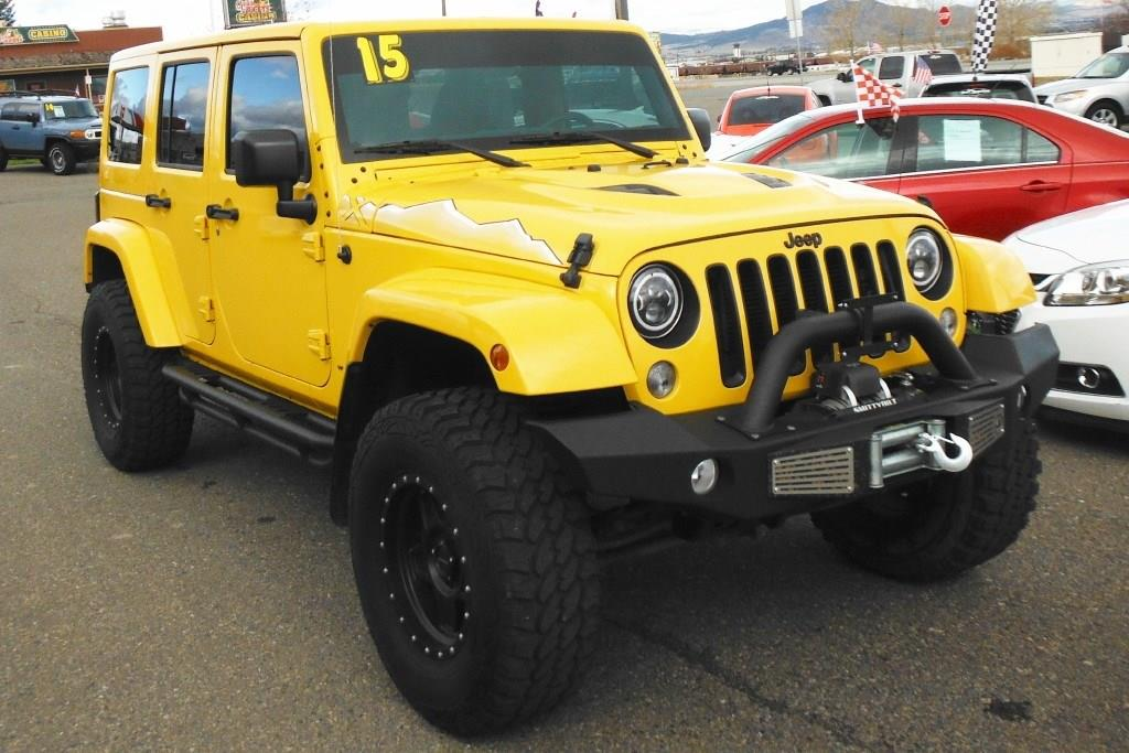 2015 Jeep Wrangler Unlimited 4x4 Sahara 4dr Suv In Helena