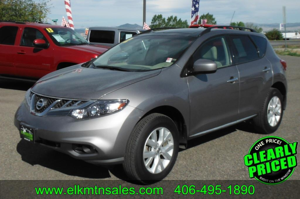 2012 Nissan Murano Sv Awd 4dr Suv In Helena Mt Elk