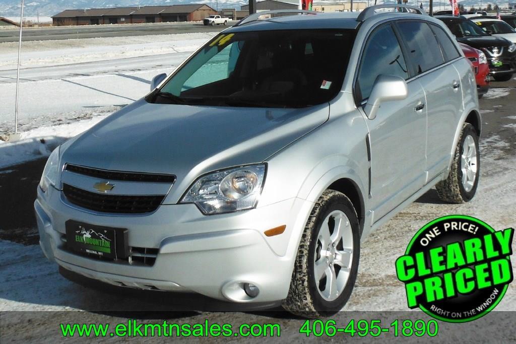 2014 Chevrolet Captiva Sport Lt 4dr Suv In Helena Mt Elk