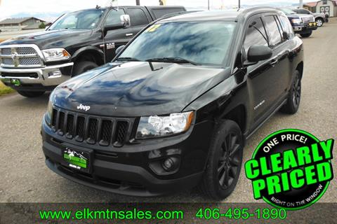 2012 Jeep Compass for sale in Helena, MT