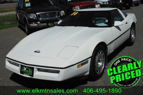 1984 Chevrolet Corvette for sale in Helena, MT