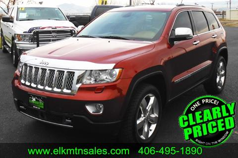 2013 Jeep Grand Cherokee for sale in Helena, MT