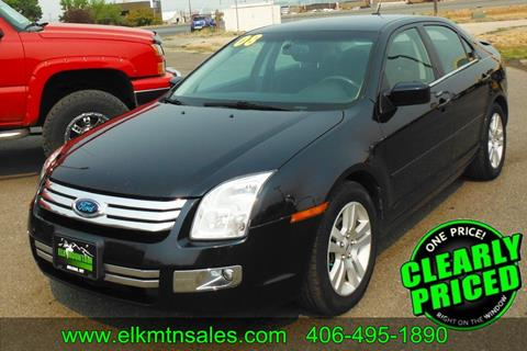 2008 Ford Fusion for sale in Helena, MT