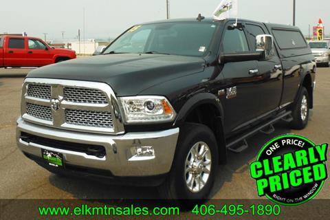 2015 RAM Ram Pickup 3500 for sale in Helena, MT