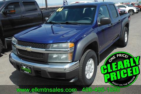 Chevrolet Of Helena Mt >> Used Chevrolet Colorado For Sale In Helena Mt Carsforsale Com