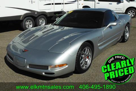 2004 Chevrolet Corvette for sale in Helena, MT