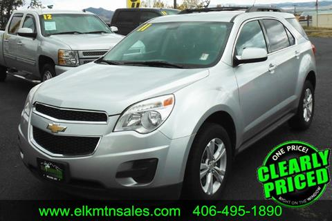 2011 Chevrolet Equinox for sale in Helena, MT