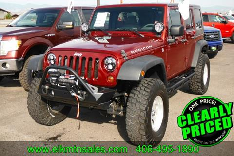 2010 Jeep Wrangler Unlimited For Sale In Helena, MT