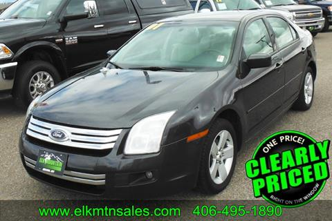 2007 Ford Fusion for sale in Helena, MT