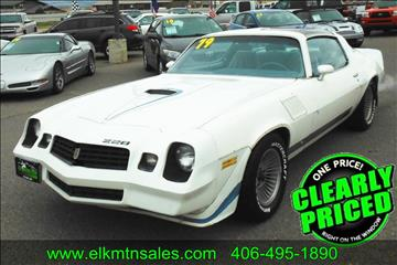 Used 1979 Chevrolet Camaro For Sale