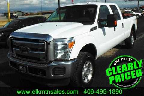 2014 Ford F-350 Super Duty for sale in Helena, MT