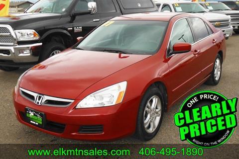 2007 Honda Accord for sale in Helena, MT
