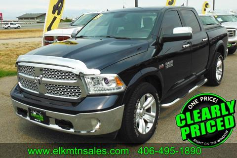 2013 RAM Ram Pickup 1500 for sale in Helena, MT