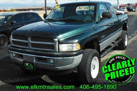 2000 Dodge Ram Pickup 2500 for sale in Helena, MT