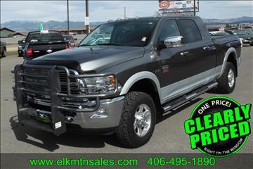 2012 RAM Ram Pickup 2500 for sale in Helena, MT