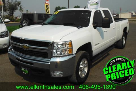 2008 Chevrolet Silverado 2500HD for sale in Helena, MT