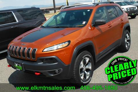 2015 Jeep Cherokee for sale in Helena, MT