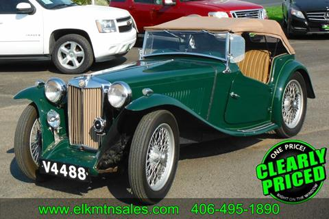 1947 MG TC ROADSTER for sale in Helena, MT