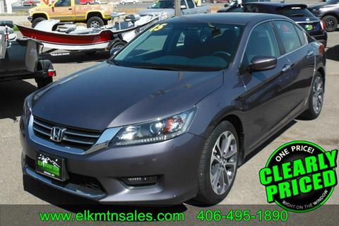 2015 Honda Accord for sale in Helena, MT