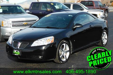 2007 Pontiac G6 for sale in Helena, MT