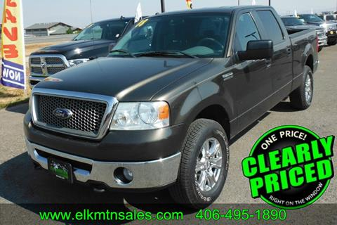 2008 Ford F-150 for sale in Helena, MT