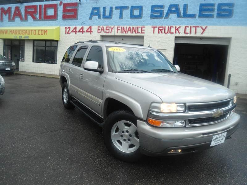 2005 Chevrolet Tahoe car for sale in Detroit