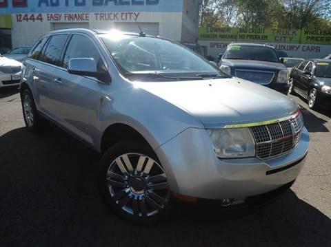 2010 Lincoln MKX for sale in Detroit, MI