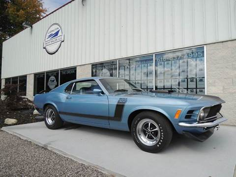 1970 Ford Mustang Boss 302 for sale in Nunica, MI