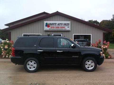 2007 Chevrolet Tahoe for sale in Redgranite, WI