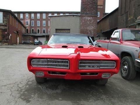 1969 Pontiac GTO for sale in Gardner, MA