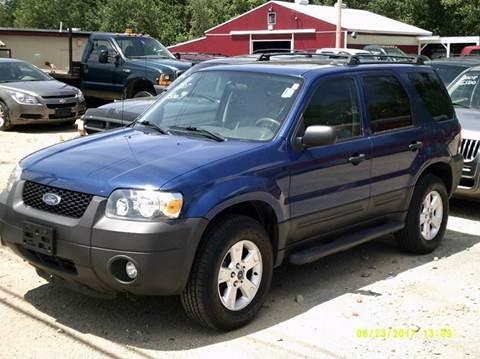 2007 Ford Escape for sale in Gardner, MA