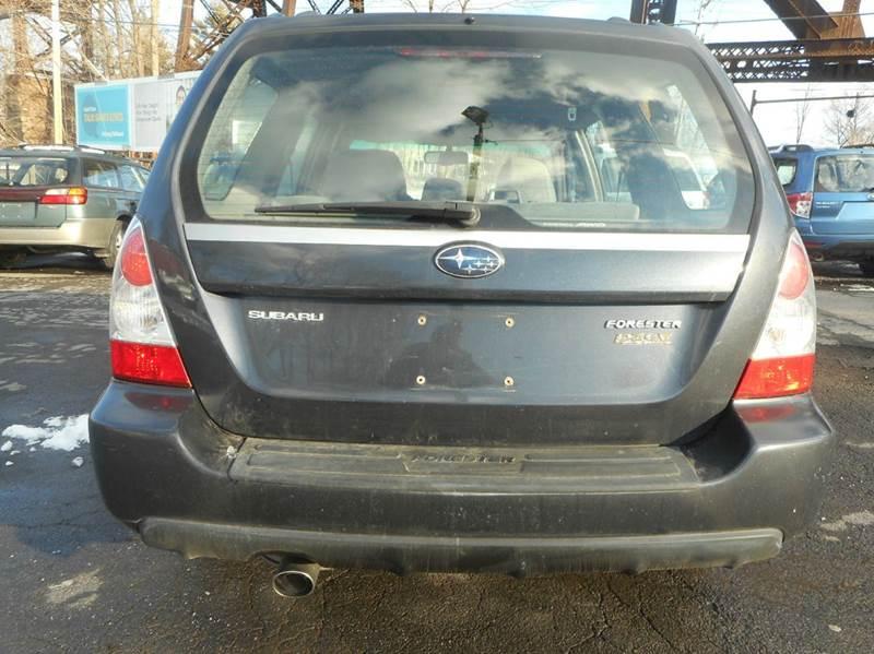 2008 Subaru Forester AWD 2.5 X 4dr Wagon 4A - Catskill NY