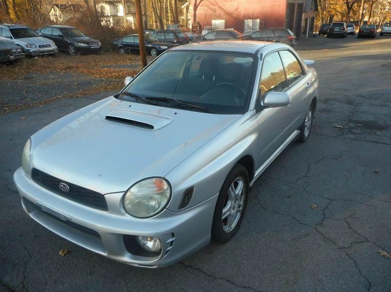 2002 Subaru Impreza AWD 4dr WRX Turbo Sedan In Catskill NY