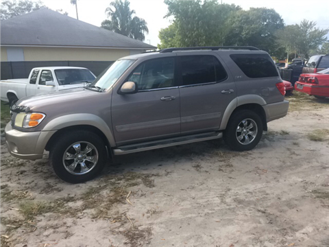 Toyota sequoia for sale florida for Parkway motors used cars panama city fl