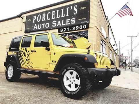 2008 Jeep Wrangler Unlimited for sale in West Warwick, RI