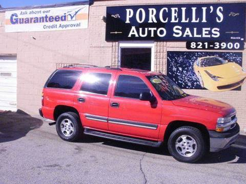 2005 Chevrolet Tahoe for sale in West Warwick, RI