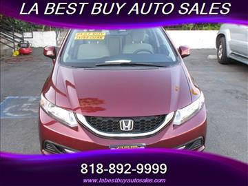 2013 Honda Civic for sale in North Hills, CA