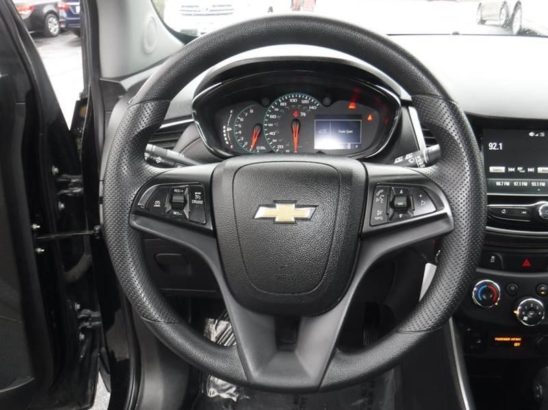 2017 Chevrolet Trax Awd Lt 4dr Crossover In Provo Ut Platinum