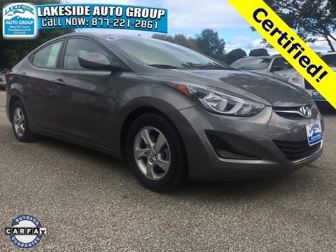 2014 Hyundai Elantra for sale in North East, PA