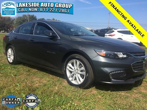 2017 Chevrolet Malibu for sale in North East, PA