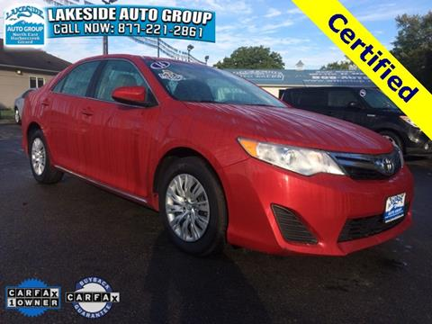 2014 Toyota Camry for sale in North East, PA