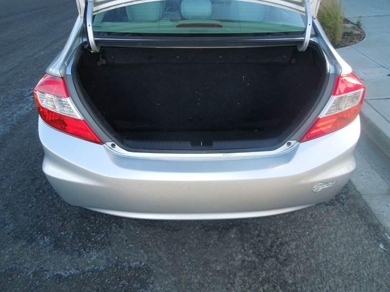 2012 Honda Civic Natural Gas w/Navi 4dr Sedan w/Navi - Alameda CA