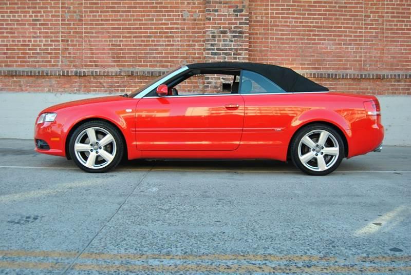 2007 Audi A4 2.0T quattro AWD 2dr Convertible (2L I4 6A) - Alameda CA