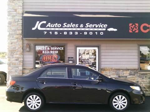 2010 Ford Fusion Oil Change >> JC Auto Sales & Service - Used Cars - Eau Claire WI Dealer
