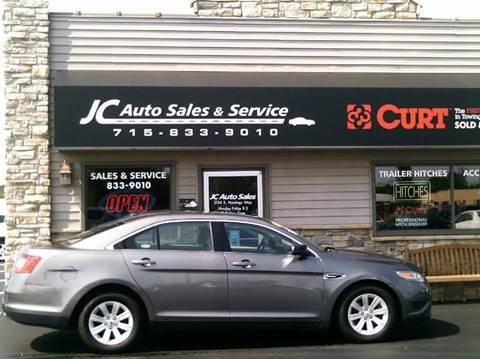 jc auto sales service used cars eau claire wi dealer. Black Bedroom Furniture Sets. Home Design Ideas