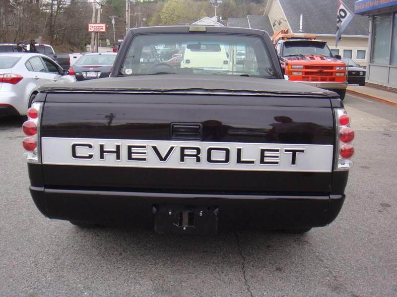 1988 Chevrolet C/K 1500 Series 2dr C1500 Silverado Standard Cab SB - Holliston MA